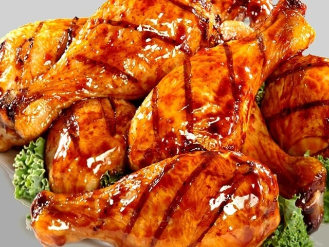 Cách làm món thịt gà nướng chao