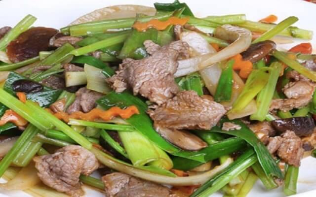 Cách làm món thịt bò xào hành tây