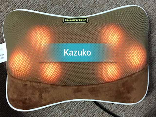 Gối massage hồng ngoại Nhật Bản Kazuko