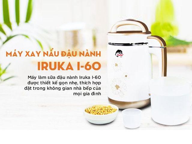 Máy làm sữa đậu nành giá rẻ Iruka I-60