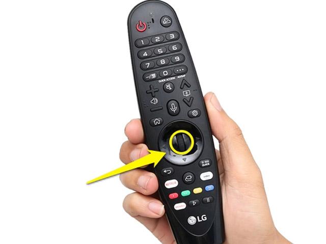 Cách sử dụng remote thông minh lg
