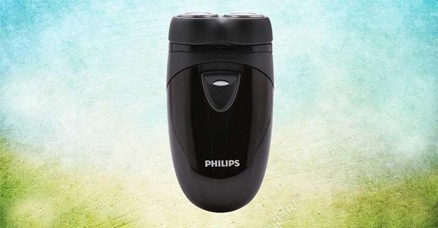 Máy cạo râu Philips PQ206 thiết kế nhỏ gọn; rất tiện lợi khi mang đi du lịch