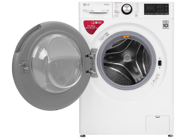 LG AI DD™ Máy giặt lồng ngang 9kg (trắng) FV1409S2W