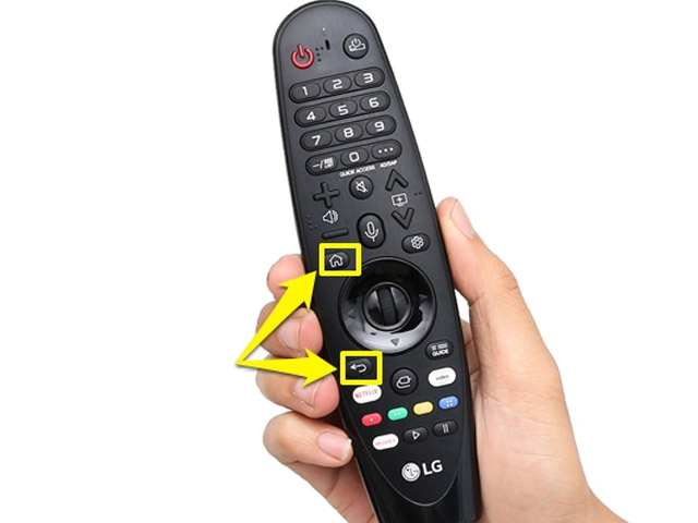 Cách kết nối remote lg