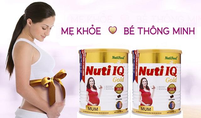 Nuti IQ Mum Gold phù hợp với cơ địa của phụ nữ Việt