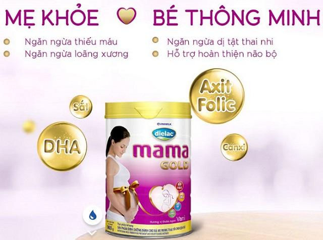 [REVIEW] Sữa bầu Dielac Mama có tốt không, có tăng cân không?