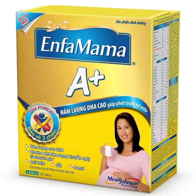 Sữa Enfamama A+ hiện đã bị làm nhái trên thị trường