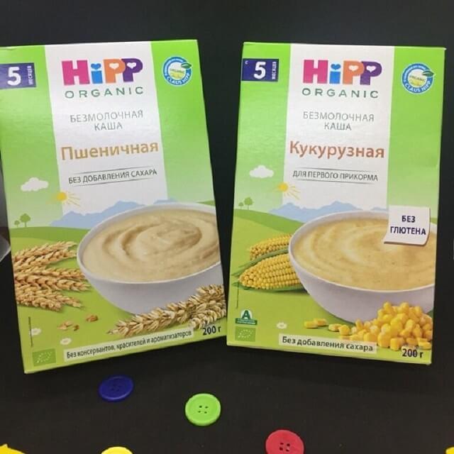 Bột ăn dặm Hipp phù hợp với trẻ 5 tháng tuổi