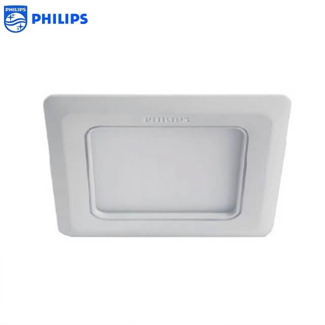 Đèn Philips Marcasite có cấu tạo rất đẹp mắt với hình vuông hoặc tròn