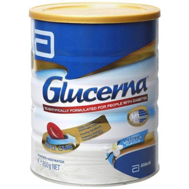 Sữa cho người tiểu đường Glucerna