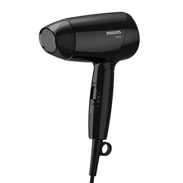 Philips BHC010 thiết kế nhỏ gọn nhưng lại có khả năng sấy khô và bảo vệ tóc vượt trội