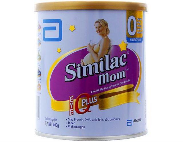 Sữa không đường dành cho bà bầu Similac Mom IQ