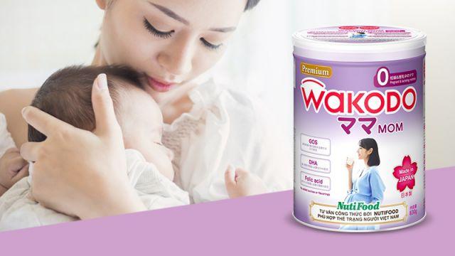 Sữa bầu Wakodo Nhật Bản