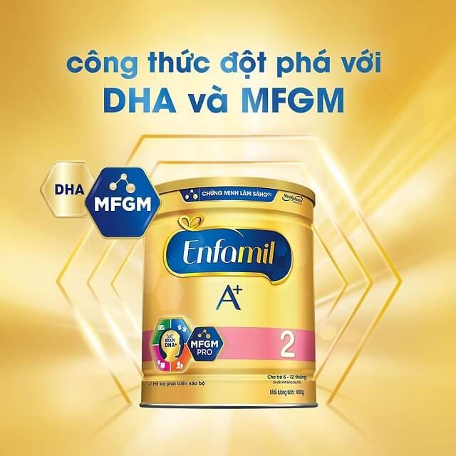 Sữa Enfa dành cho trẻ sơ sinh từ 6 - 12 tháng tuổi