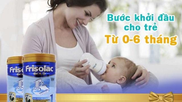 Cách chọn sữa cho trẻ sơ sinh như thế nào