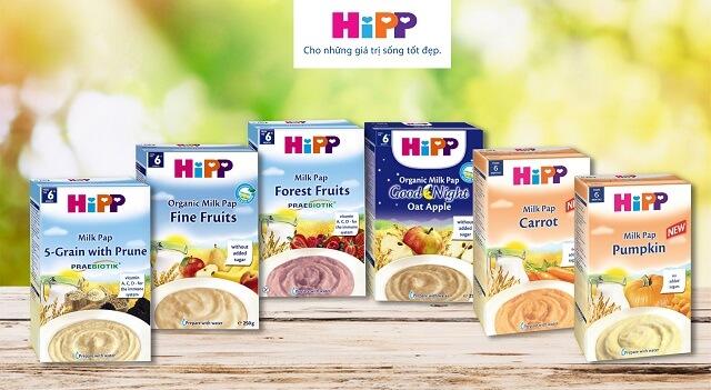 Hipp là thương hiệu chuyên về các sản phẩm dinh dưỡng cho bé của Đức