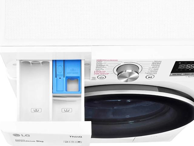 Máy giặt LG rút ngắn thời gian giặt đồ, đánh bay bụi bẩn