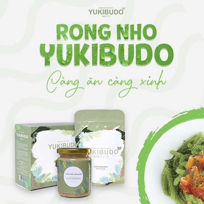 Rong nho Yukibudo của công ty nào