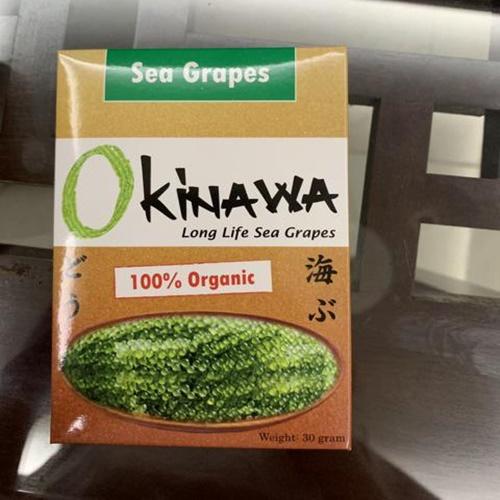 Rong nho Okinawa nổi tiếng tại Nhật Bản
