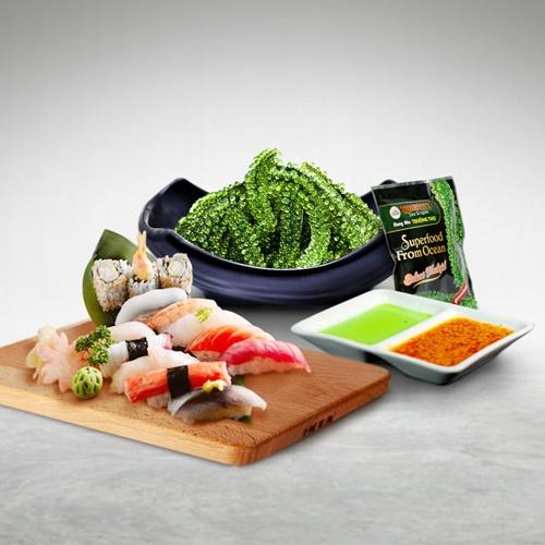 Rong nho Việt Nam được lấy giống từ Nhật Bản