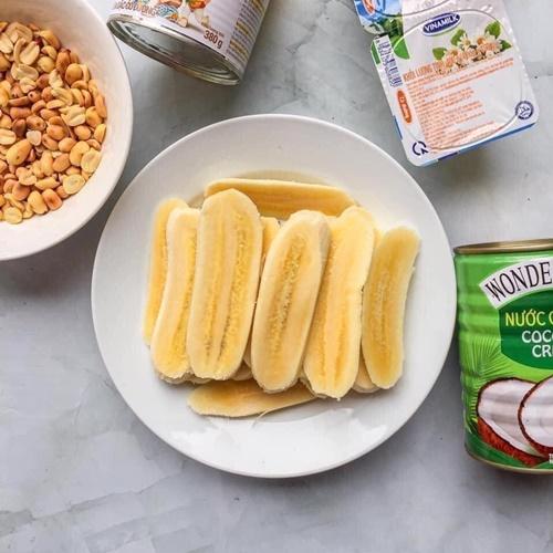 Cách làm kem chuối sữa dừa đơn giản