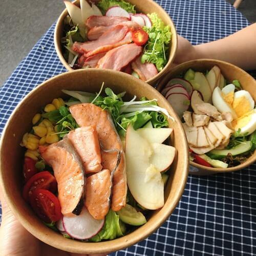 Đồ ăn Healthy ngon và đầy đủ dinh dưỡng